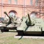Artillery museum, St.Petersburg, Russia — Stock Photo #4393064