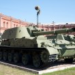 Artillery museum, St.Petersburg, Russia — Stock Photo