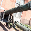 Artillery guns — Stock Photo