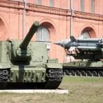 Artillery museum, St.Petersburg, Russia — Stock Photo #4393367