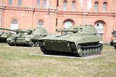 Artillery museum, St.Petersburg, Russia — Stock Photo