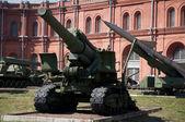 Artillery guns — Stock Photo