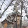 Russia, Moscow. The wooden church — 图库照片