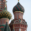 Famous St. Basil's Cathedral - Stock Photo