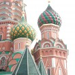 Famous St. Basil's Cathedral — Stock Photo #4413799