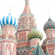 Famous St. Basil's Cathedral — Stock Photo #4413805