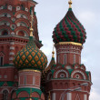 Famous St. Basil's Cathedral — Stock Photo