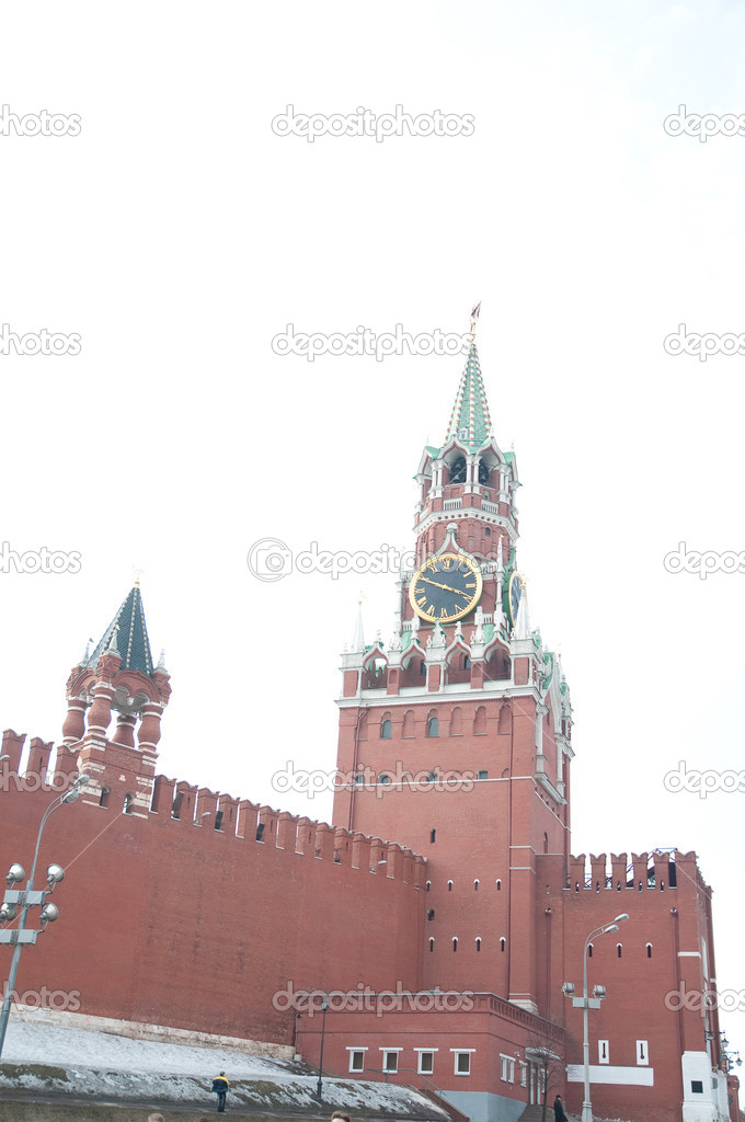 Kremlin tower  Stock Photo #4413766