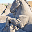 Sandy sculpture — Stock Photo