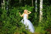 La novia de madera — Foto de Stock