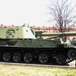 Artillery museum, St.Petersburg, Russia — Stock Photo #4523755