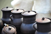 Cups and jugs — Stock Photo
