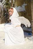 White angel — Stock Photo