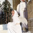 Two white angels — Stock Photo #4562967
