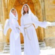 Two white angels — Stock Photo #4571116