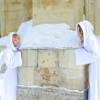 Two white angels — Stock Photo #4571121