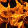 Stock Photo: Fire close up