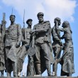 Monument to defenders of blockade Leningrad — Stock Photo #4581432