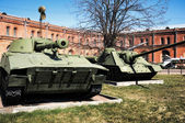 Artillery museum, St.Petersburg, Russia — Photo