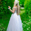 White queen - Stock Photo