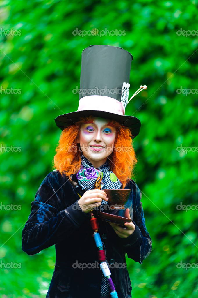Mad Hatter,  fairy tale character — Stock Photo #4834675