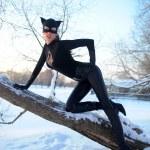 Catwoman — Stock Photo