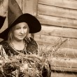 Woman Witch — Stock Photo