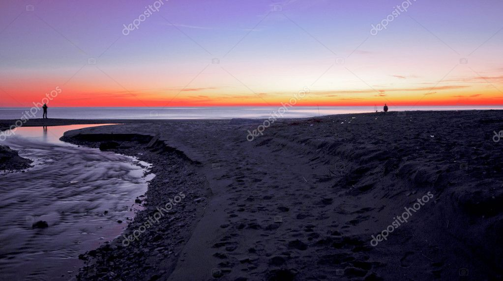 Italian's sunset  Stock Photo #4426270