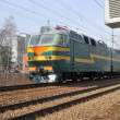 Stock Photo: Russian electric train