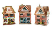 Kitchen houses - candy, zucchero, suga — Stock Photo