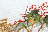 Enfoque individual textil — Foto de Stock