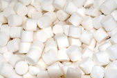 White salt tablets for water softening closeup. — Stock Photo