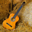 Classical guitar — Stock Photo