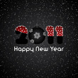 Royalty-Free Stock Vector Image: Happy New Year 2011