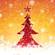 Royalty-Free Stock Vector Image: Golden Christmas background