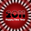 Royalty-Free Stock Vectorielle: Happy New Year 2011