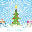 Christmas background — Stock Vector #4311628