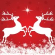 Royalty-Free Stock Vector Image: Christmas reindeer