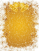 Golden christmas frame — 图库矢量图片