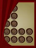 A box of chocolates — Stock Vector