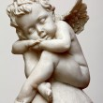 Спящая Ангел — Стоковое фото