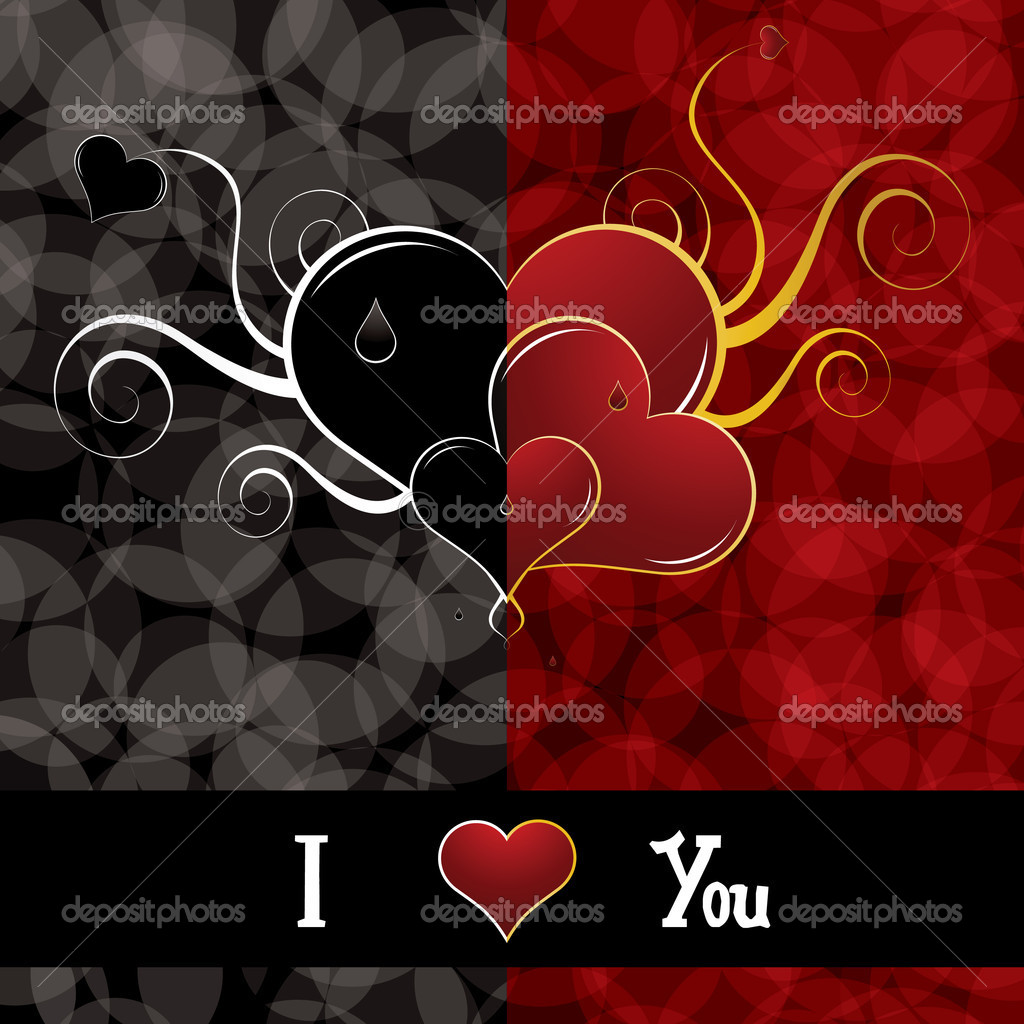 Beautiful abstract Valentines Day background — Stock Vector #4560294