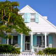 Bahamian house - Stock Photo