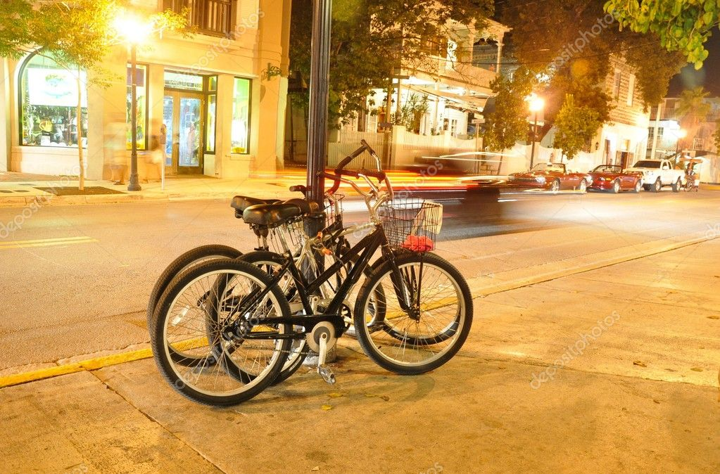 Bicycles in Key West/Florida — Stock Photo #4250863