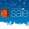 Christmas Sale Card - Stock Photo