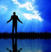 молитвы — Стоковое фото