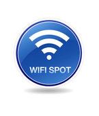 Wifi Spot Icon — Stock Photo