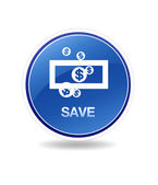 Save Icon — Stock Photo