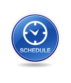 Schedule Icon — Stock Photo