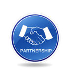 Partnership Icon — Stock Photo